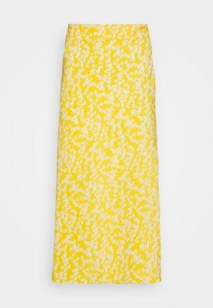 CARE FLORAL PRINTED MIDI SKIRT - A-line skjørt - yellow