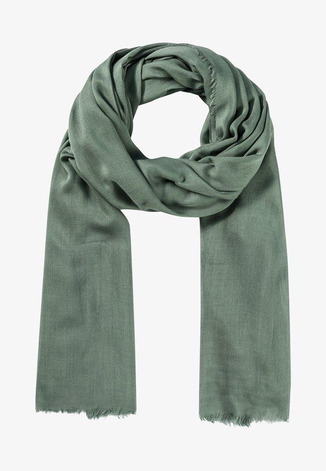 Sjaal - seegrün
