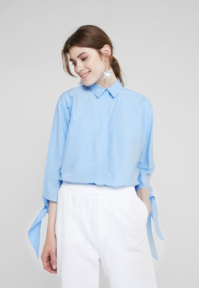 NIETZSCHE - Button-down blouse - powder blue