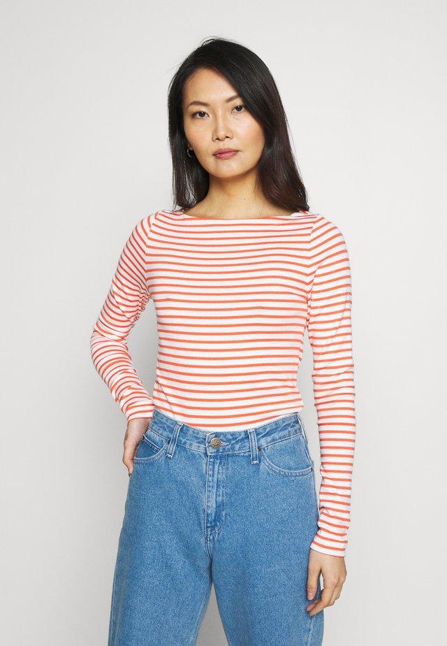 BOAT - Bluzka z długim rękawem - orange combo