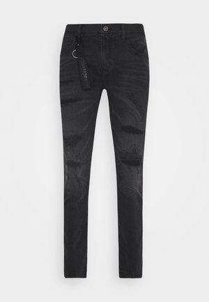 CARROT KENNY - Jeansy Slim Fit - black
