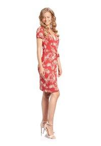 Vive Maria - HAWAII HULA  - Day dress - rot allover - 2