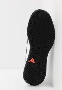 adidas Performance - DEFIANT GENERATION  - Zapatillas de tenis para todas las superficies - footwear white/core black - 4