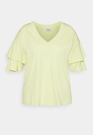 FRILL - T-shirts med print - lemon