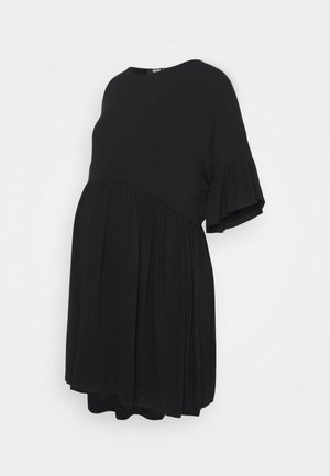 SMOCK DRESS - Jerseyjurk - black