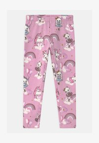 Lindex - MINI SWEET - Leggings - Trousers - dusty pink - 0