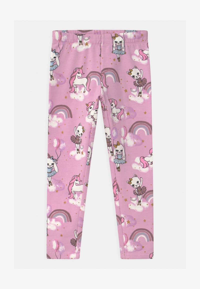 Lindex - MINI SWEET - Leggings - Trousers - dusty pink
