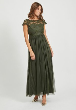 SPITZEN - Maxi dress - forest night