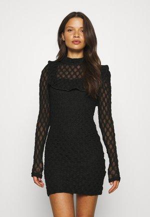 BODYCON MINI DRESS - Cocktailklänning - black