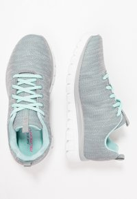 Skechers Sport - GRACEFUL - Baskets basses - gray/mint - 3