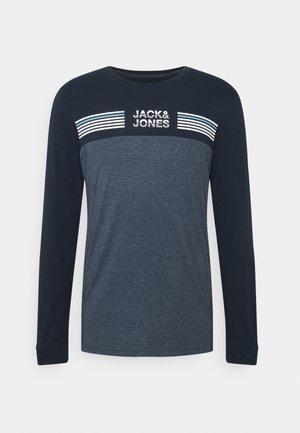 JCOCARGO TEE CREW NECK - Long sleeved top - navy blazer