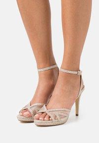 Dune London - MARLAH DI - High heeled sandals - champagne - 0