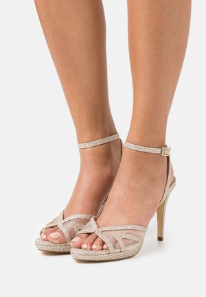 MARLAH DI - High heeled sandals - champagne
