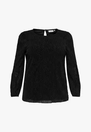 ZEBRA - Long sleeved top - black