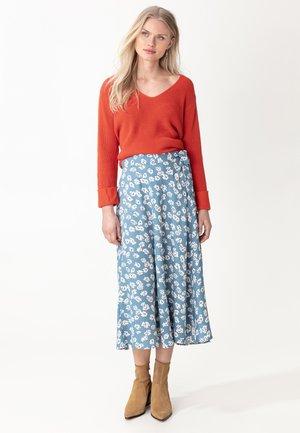 SKIRT HAITI - A-line skirt - ltblue