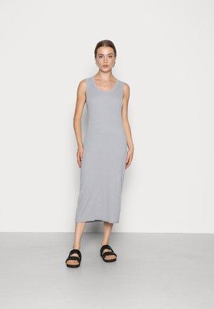 SLEEVELESS MIDI DRESS - Jumper dress - light grey