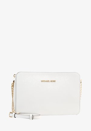 JET SET TRAVEL CROSSBODY - Schoudertas - optic white