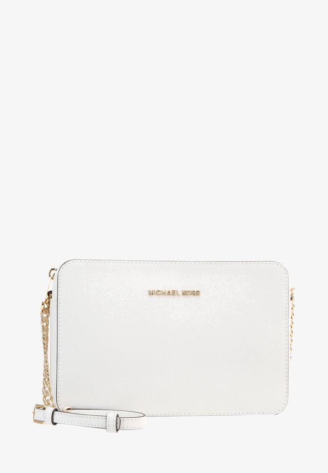 JET SET TRAVEL CROSSBODY - Taška s příčným popruhem - optic white