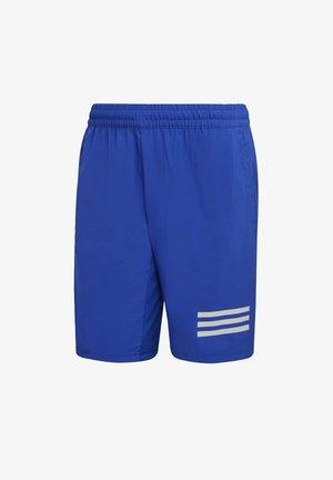 CLUB 3-STRIPES TENNIS AEROREADY PRIMEGREEN SHORTS - Korte broeken - bold blue white