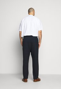 Only & Sons - ONSLINUS LONG CHECK - Trousers - dark navy - 2