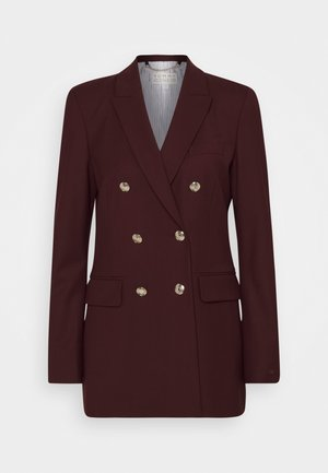 ICON WOOL  - Blazer - deep burgundy