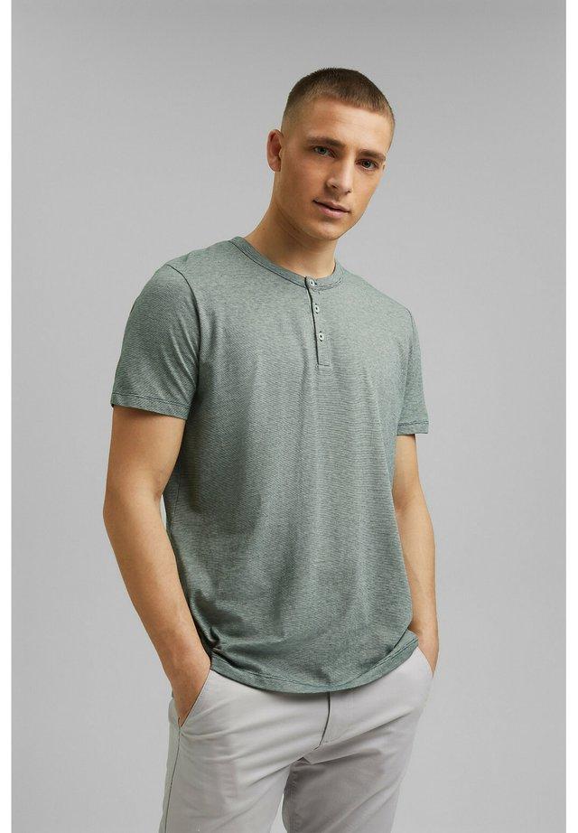 HENLEY  - T-shirt imprimé - teal blue