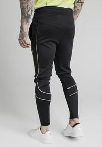 SIKSILK - Tracksuit bottoms - black/white - 1