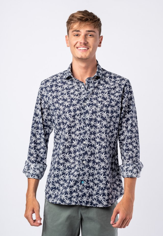 BAZARUTO  - Shirt - navy