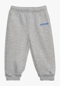 adidas Performance - ESSENTIALS LINEAR TRACKSUIT BABY SET - Tracksuit - real blue/medium grey heather/blue - 2