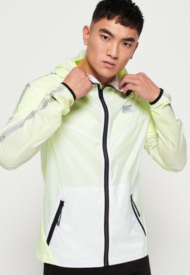 Superdry - Waterproof jacket - white