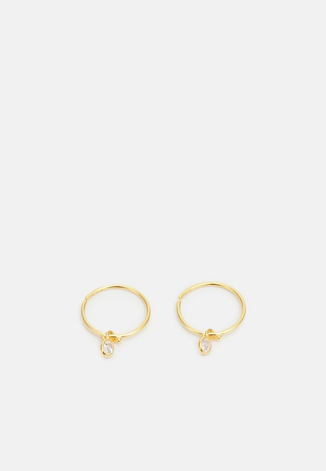 FIONA MINI HOOPS - Korvakorut - gold-coloured