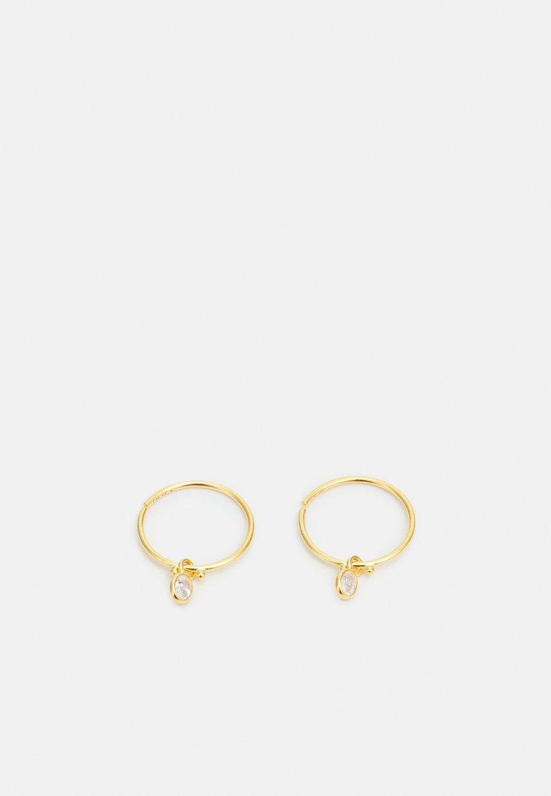 Julie Sandlau - FIONA MINI HOOPS - Korvakorut - gold-coloured