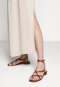 Filippa K - ALYSSA DRESS - Maxi šaty - dune beige - 3