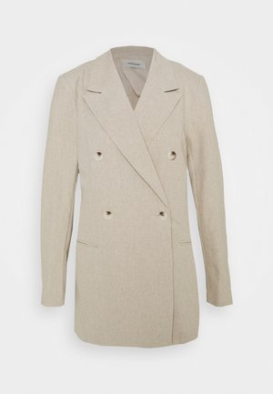 SAGENE - Short coat - sand