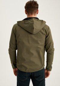DeFacto - Denim jacket - khaki - 2