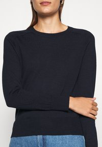 Banana Republic - CREW SOLIDS - Jumper - preppy navy - 4