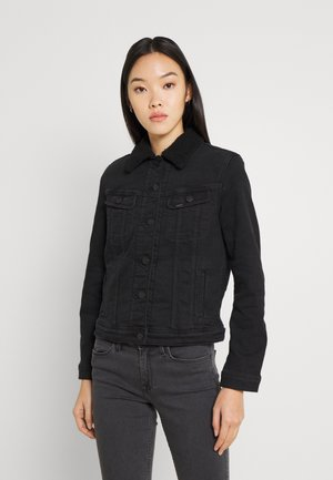 RIDER - Giacca di jeans - black parker