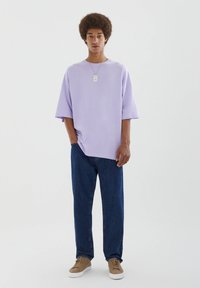 PULL&BEAR - T-shirts basic - purple - 1