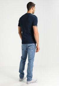 G-Star - BASE V-NECK T S/S 2-PACK - T-shirt basique - legion blue - 2