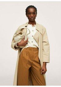 Mango - Trousers - medium brown - 7
