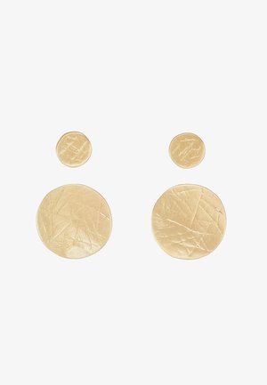 2 PACK - Earrings - gold-coloured