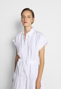 Lauren Ralph Lauren - BROADCLOTH DRESS - Košilové šaty - white - 3