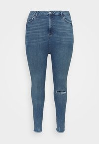 New Look Curves - LIFT AND SHAPE - Jeans Skinny Fit - mid blue - 3