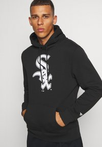 Fanatics - MLB CHICAGO WHITE SOX ICONIC PRIMARY COLOUR LOGO GRAPHIC HOODIE - Hoodie - black - 3