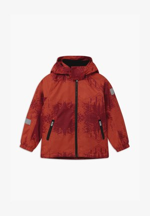 WINTER MAUNU UNISEX - Winter jacket - lingonberry red