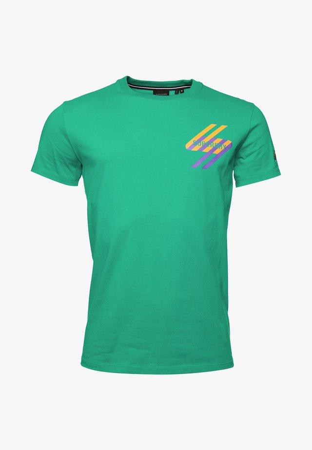 STYLE ENERGY - Print T-shirt - lapis