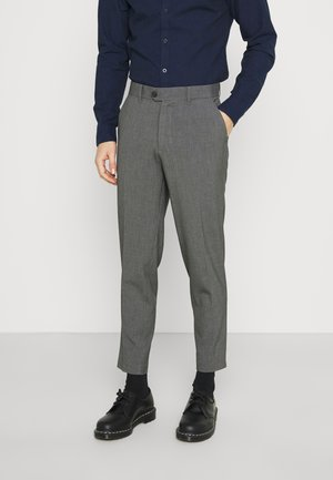 PAX PANTS - Trousers - pewter mix