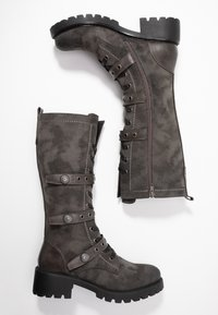 Anna Field - Lace-up boots - dark grey - 3