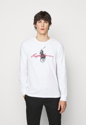 T-shirt à manches longues - white