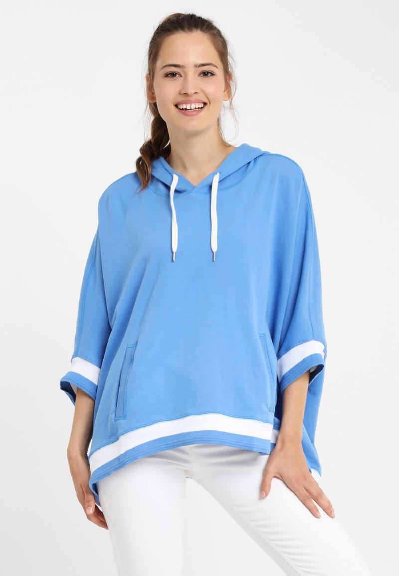 PONCHO COMPANY - Hoodie - blue